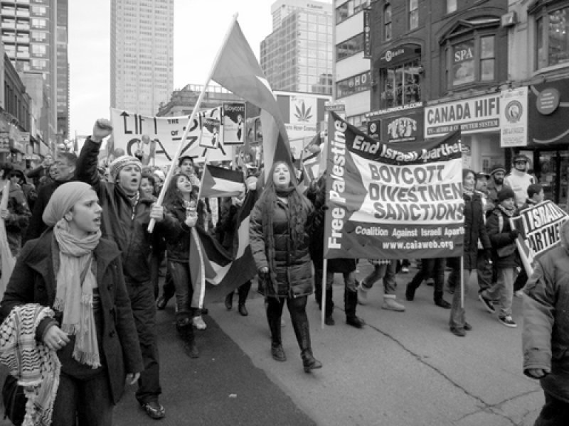 Toronto, Canada on 27 December 2009. (© caiaweb.org)