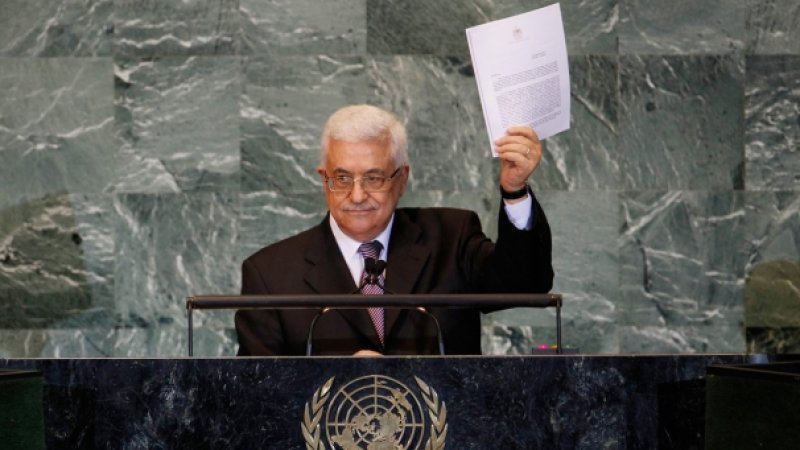 Palestinian President Mahmoud Abbas's Speach at the UN General Assemply session (© paltoday.ps)