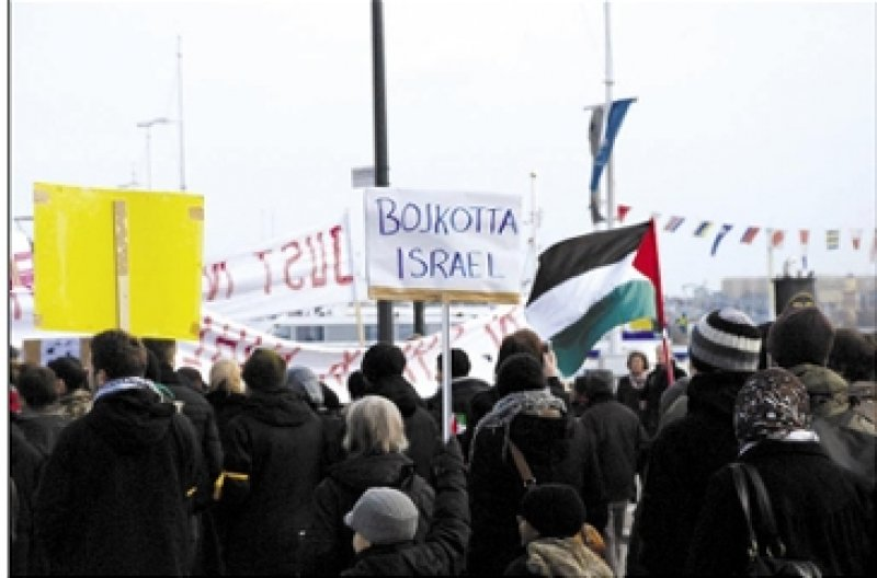 Organization and activities working for boycott of Israel in Sweden