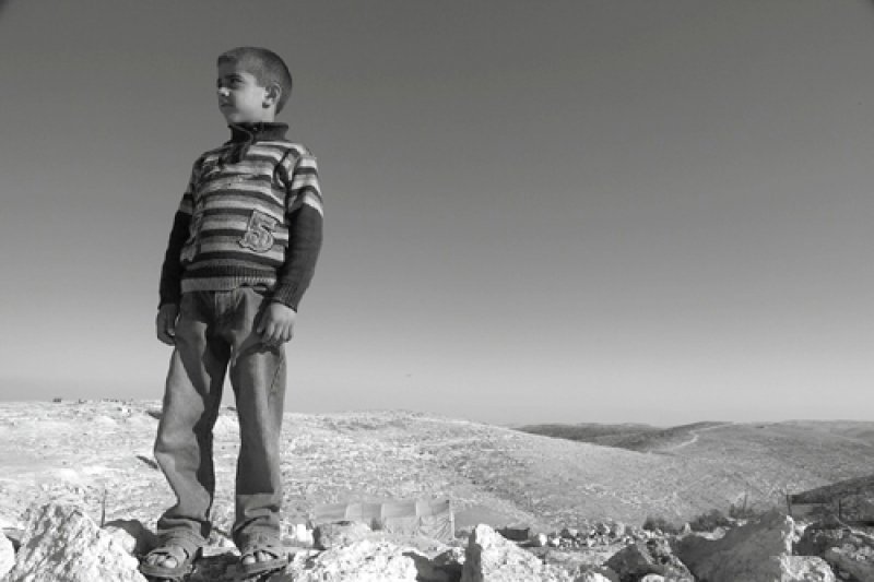 The village of Umm Fagarah South Hebron Hills. 2012 (©Rich Wiles\BADIL)