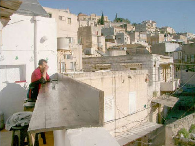 The Palestinian city of Nazareth, home of author Jonathan Cook.